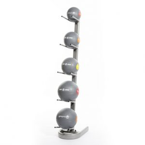 GYM GEAR SINGLE SIDED 5 MEDICINE/ SLAM BALL STORAGE RACK