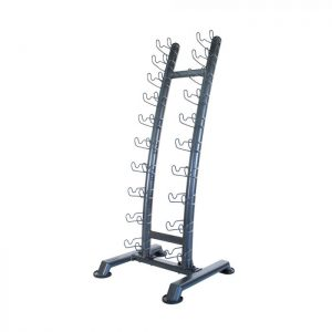 PHYSICAL COMPANY 10 PAIR UPRIGHT DUMBBELL RACK