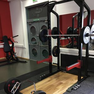 GYM GEAR STERLING SERIES HALF POWER RACK