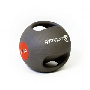 GYM GEAR DOUBLE GRIP MEDICINE BALL