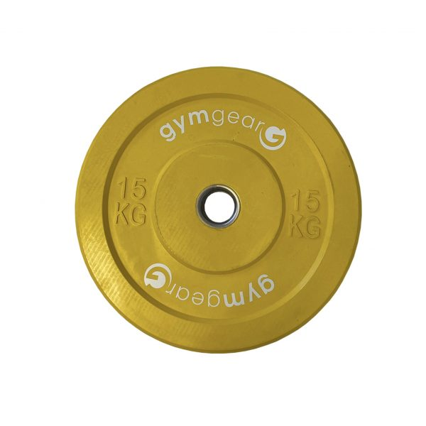 GYM GEAR COLOURED BUMPER PLATES