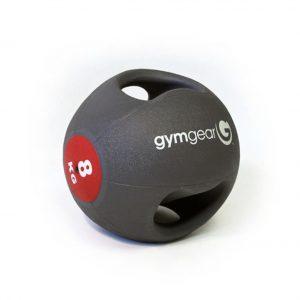 GYM GEAR DOUBLE GRIP MEDICINE BALL