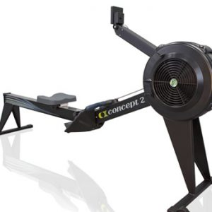 CONCEPT 2 MODEL E ROWING MACHINE-BLACK
