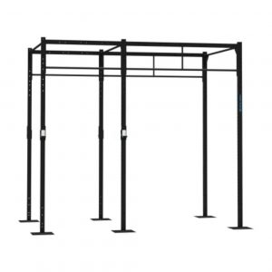 GYM GEAR 2 STATION FREE STANDING SQUAT RIG WITH 2 EXTENSIONS