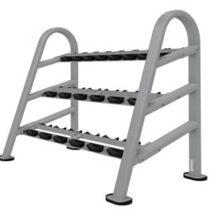 NAUTILUS INSTINCT® DUMBBELL RACK 10-PAIR/3 TIER