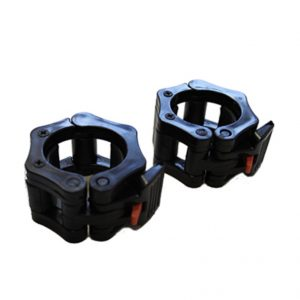 GYM GEAR OLYMPIC CLAMP COLLARS (PAIR)