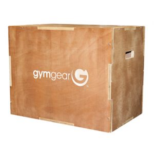 GYM GEAR WOODEN 3 IN 1 PLYOMETRIC BOX