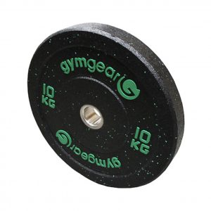 GYM GEAR HI IMPACT OLYMPIC RUBBER BUMPER PLATES
