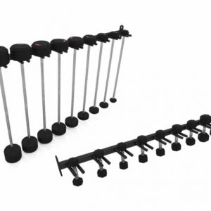 EXIGO STUDIO VERTICAL BARBELL RAIL