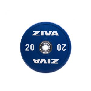 ZIVA ZVO RUBBER COMPETITION COLOURED TRAINING BUMPER DISC