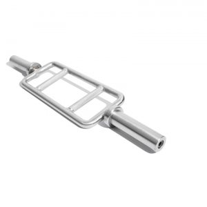 OLYMPIC BARS – BRUSHED STEEL (WITHOUT BEARINGS)