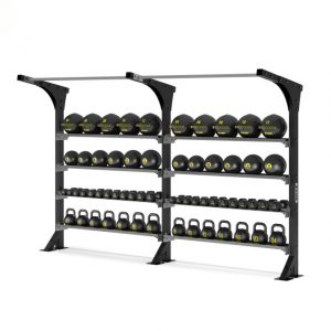 """ZIVA XP WALL STORAGE WITH PULL UP BAR 72"""" (DOUBLE X 2)"""