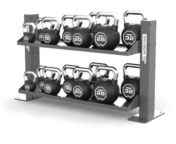 ESCAPE FITNESS SBX KETTLEBELL SET WITH OCTAGON RACK