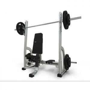 PHYSICAL COMPANY OLYMPIC SHOULDER PRESS BENCH