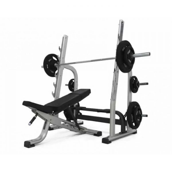PHYSICAL COMPANY OLYMPIC ADJUSTABLE MULTI BENCH