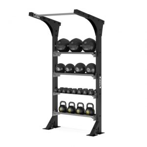 ZIVA XP WALL STORAGE WITH PULL UP BAR 42″ WIDE STATION
