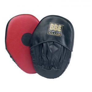 YORK BBE CLUB LEATHER CURVED HOOK AND JAB PADS